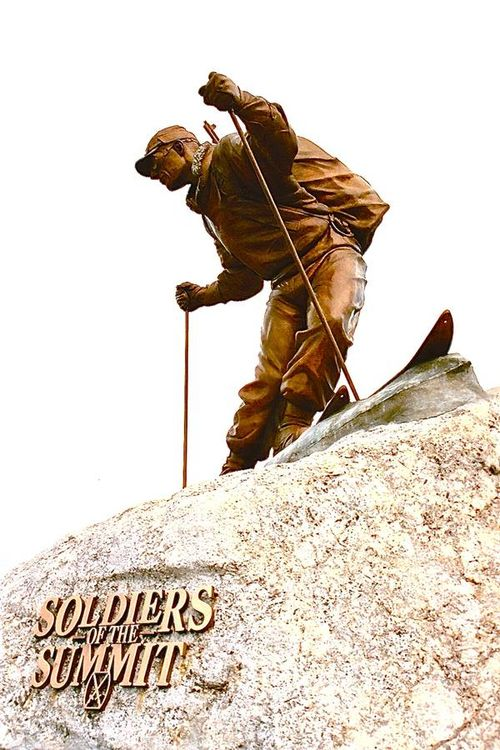 10th Mountain Division Memorial by Robert Eccleston - search and link Sculpture with SculptSite.com