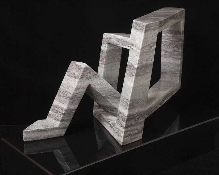 D Knot 3 by Robin Antar - search and link Sculpture with SculptSite.com