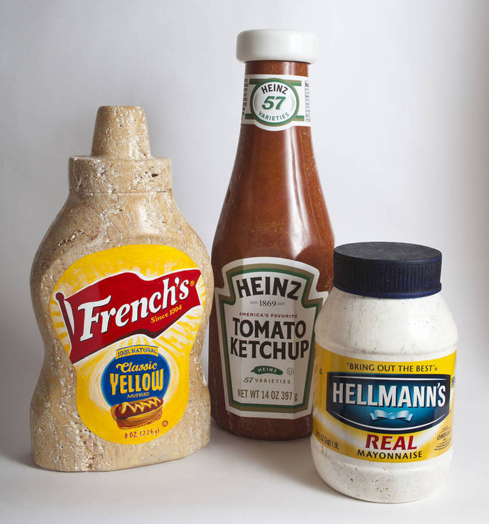 Heinz Ketchup by Robin Antar - search and link Sculpture with SculptSite.com