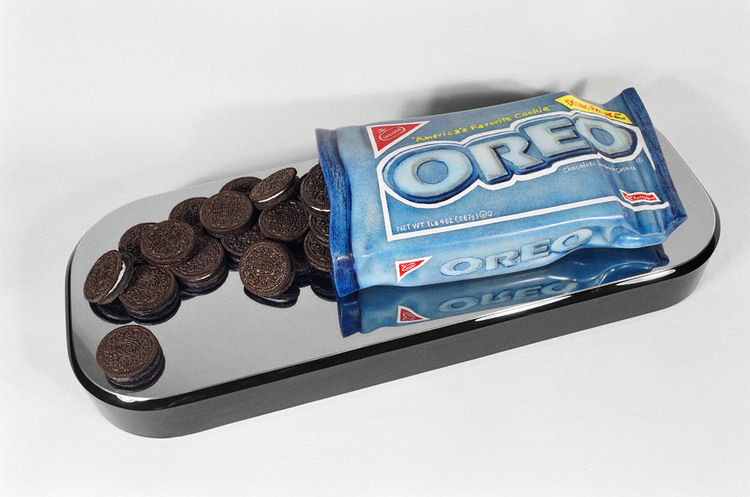 Oreo Cookies by Robin Antar - search and link Sculpture with SculptSite.com