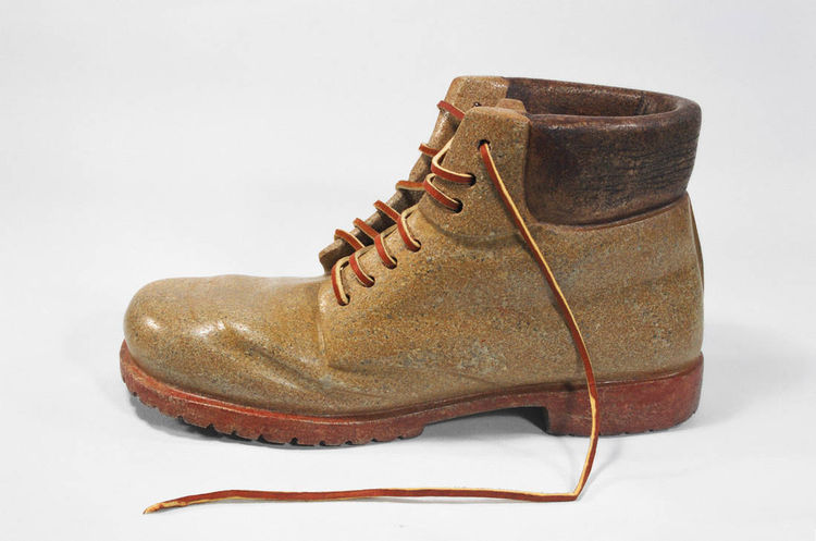 work boot by Robin Antar - search and link Sculpture with SculptSite.com