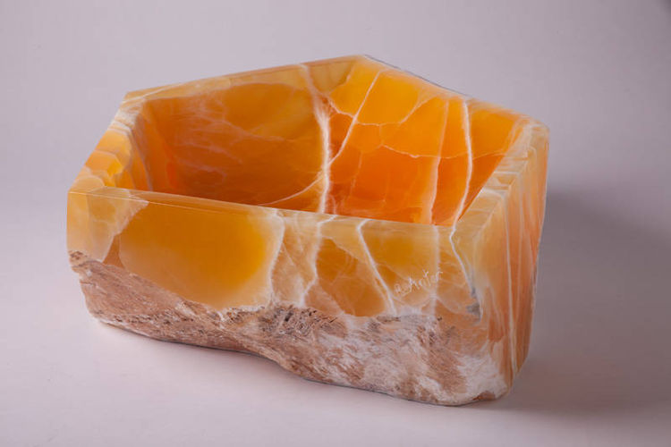 Honeycomb bowl by Robin Antar - search and link Sculpture with SculptSite.com