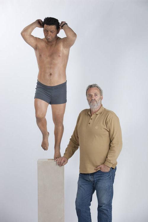 Leap 2 by Zarko Baseski - search and link Sculpture with SculptSite.com
