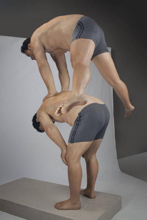 Leap 3 by Zarko Baseski - search and link Sculpture with SculptSite.com