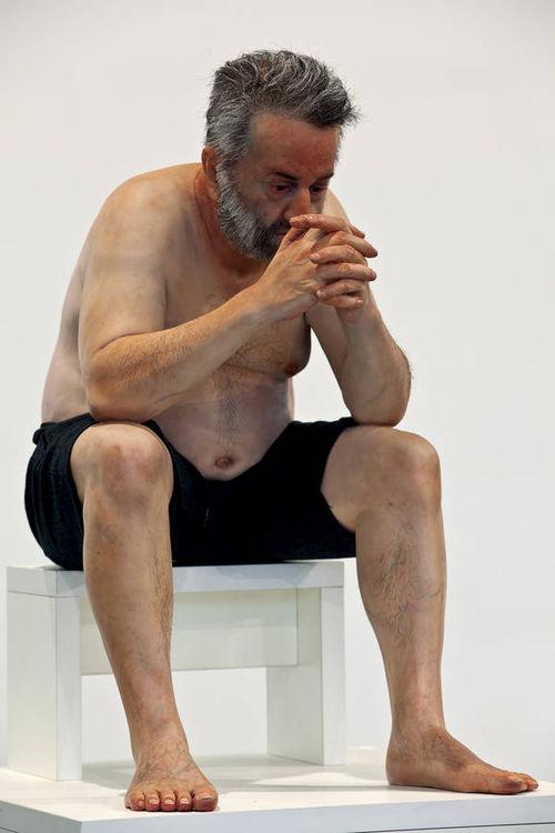 Self Portrait  by Zarko Baseski - search and link Sculpture with SculptSite.com
