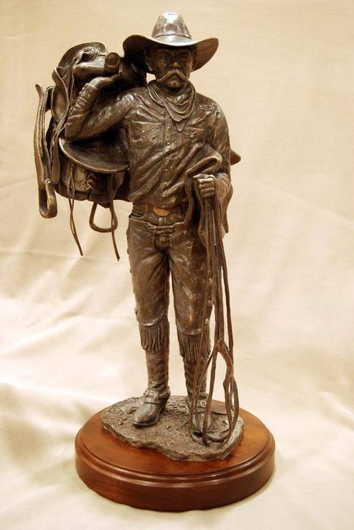 American Cowboy by David Argyle - search and link Sculpture with SculptSite.com