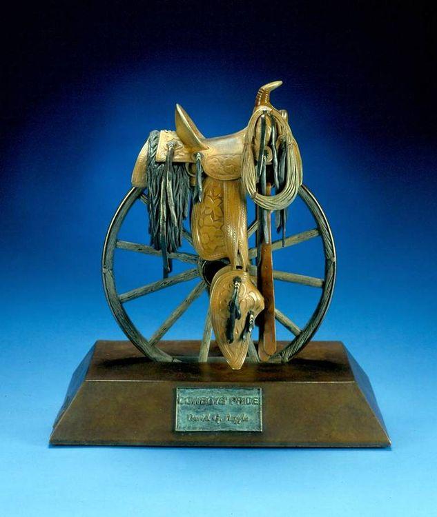 Cowboys Pride by David Argyle - search and link Sculpture with SculptSite.com