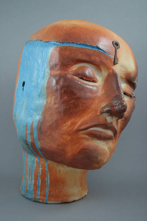 Healing Waters by Jo Grishman - search and link Sculpture with SculptSite.com