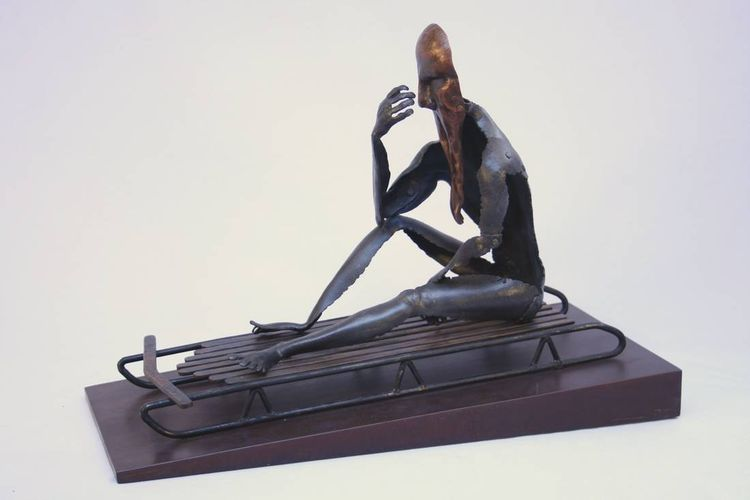 Grief by Barry W. Sheehan - search and link Sculpture with SculptSite.com