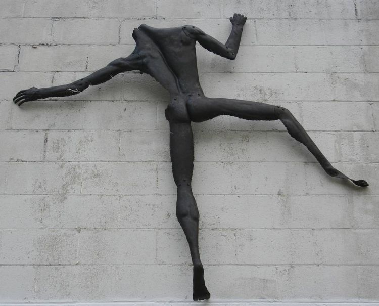 Climber by Barry W. Sheehan - search and link Sculpture with SculptSite.com