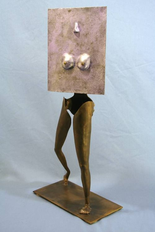 Enticing Betty by Barry W. Sheehan - search and link Sculpture with SculptSite.com