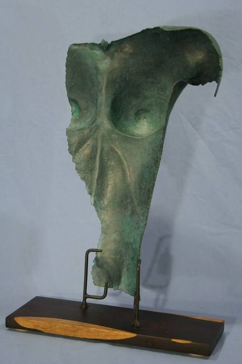 Female Torso by Barry W. Sheehan - search and link Sculpture with SculptSite.com