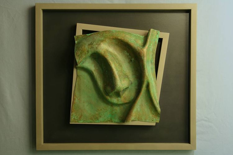12 x 12 series D by Barry W. Sheehan - search and link Sculpture with SculptSite.com