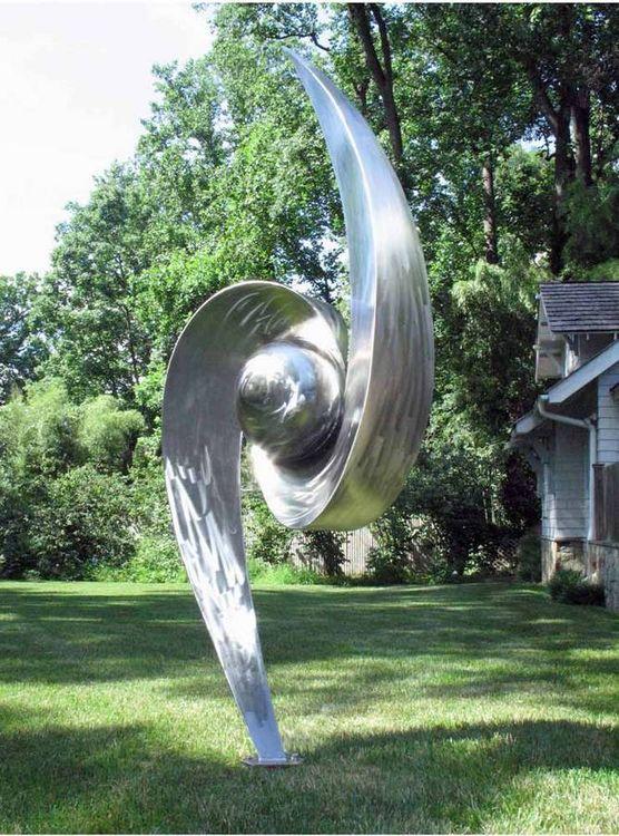 Vortex by Barton Rubenstein - search and link Sculpture with SculptSite.com