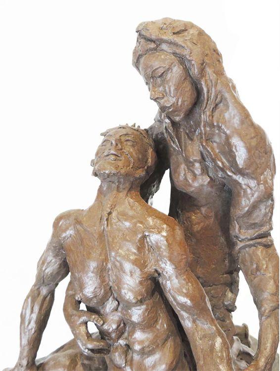 La Pieta by Bill Batic - search and link Sculpture with SculptSite.com