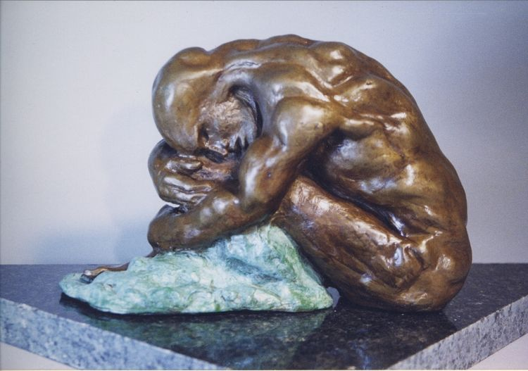 The Cover by Bill Batic - search and link Sculpture with SculptSite.com