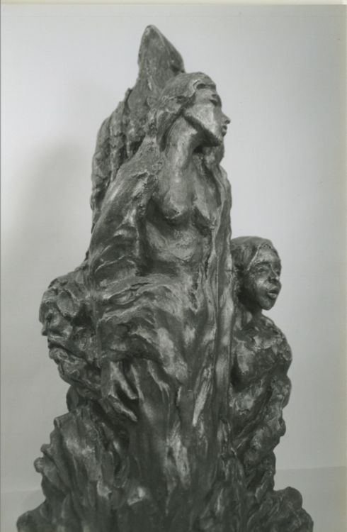 Emergence of One by Bill Batic - search and link Sculpture with SculptSite.com
