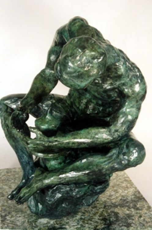 The Potter by Bill Batic - search and link Sculpture with SculptSite.com