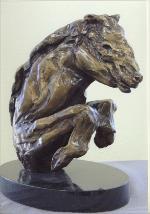 Young Stud by Bill Batic - search and link Sculpture with SculptSite.com