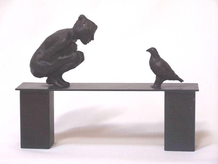 Conversation by Belgin Yucelen - search and link Sculpture with SculptSite.com