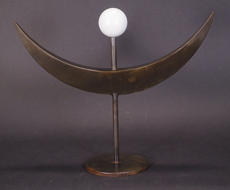 Moonrise by Robert E Gigliotti - search and link Sculpture with SculptSite.com