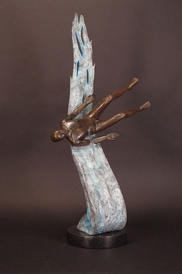 Beyond Samsara by Robert E Gigliotti - search and link Sculpture with SculptSite.com