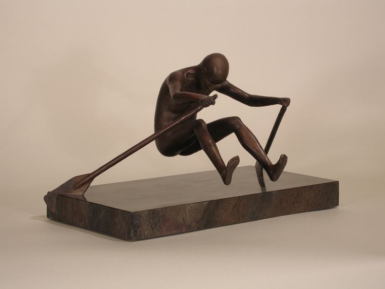 Rower by Robert E Gigliotti - search and link Sculpture with SculptSite.com