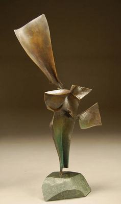 Standard Bearer by Robert Pulley - search and link Sculpture with SculptSite.com