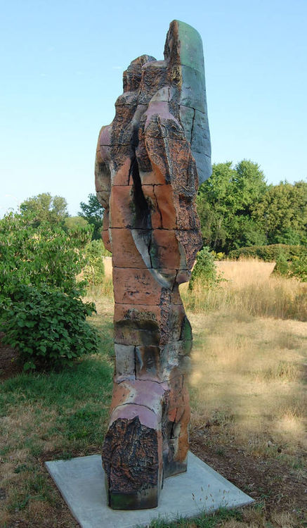 Daughter of the Moon, Nokomis by Robert Pulley - search and link Sculpture with SculptSite.com