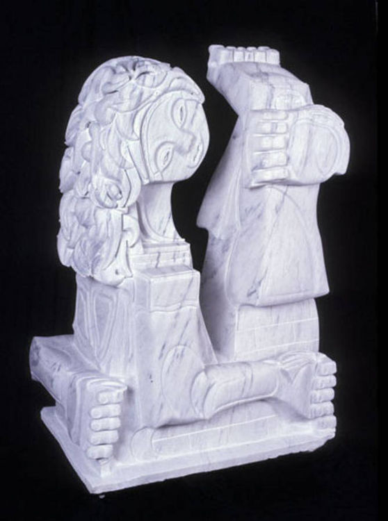 New Nazca Stone by Scott Cahaly - search and link Sculpture with SculptSite.com