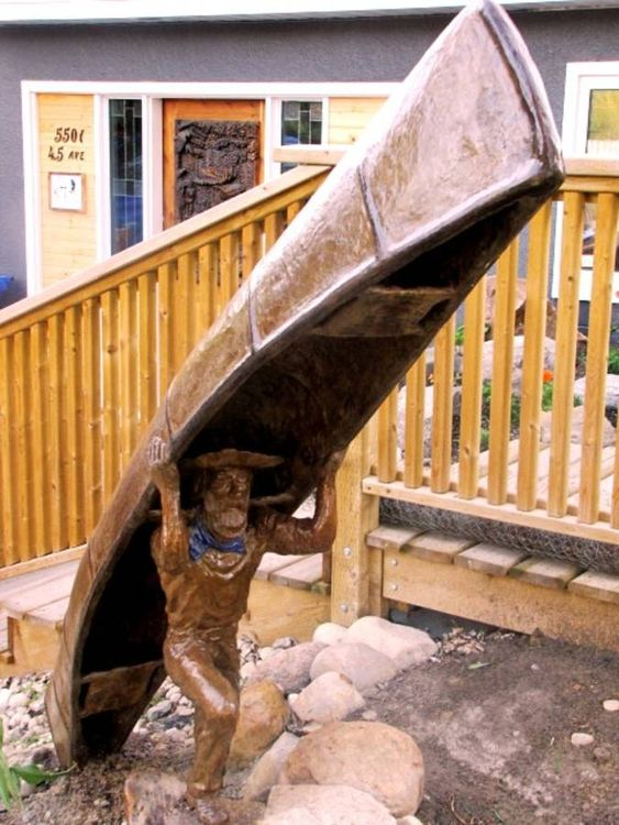 The prospector by Edward Kitt - search and link Sculpture with SculptSite.com