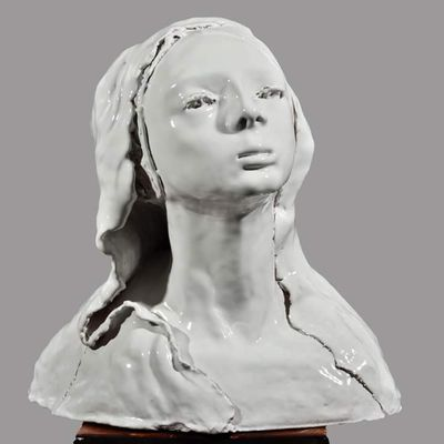 Martina's portrait by Cristina Trifiro - search and link Sculpture with SculptSite.com