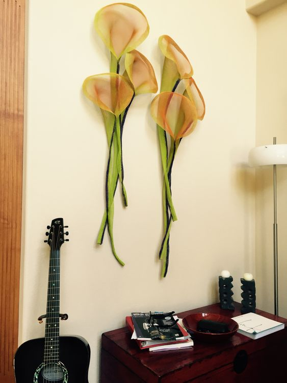 Two Bunches of Callas by Dan Rider - search and link Sculpture with SculptSite.com