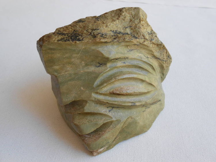 IN THE PALM OF YOUR HAND  Green Compatriot by David Willis - search and link Sculpture with SculptSite.com