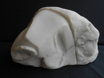 Deep Set Eyes by David Willis - search and link Sculpture with SculptSite.com