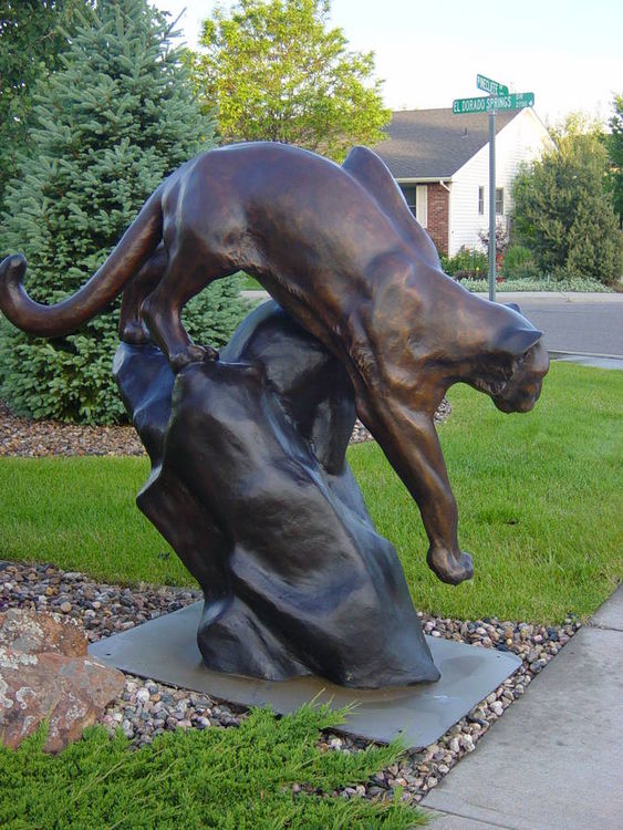 Taking Stalk by Dawn Weimer - search and link Sculpture with SculptSite.com