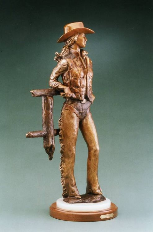 Chaps by Dawn Weimer - search and link Sculpture with SculptSite.com