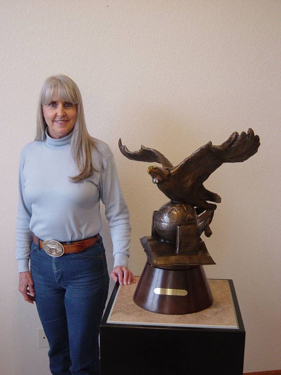 Wings of Freedom by Dawn Weimer - search and link Sculpture with SculptSite.com