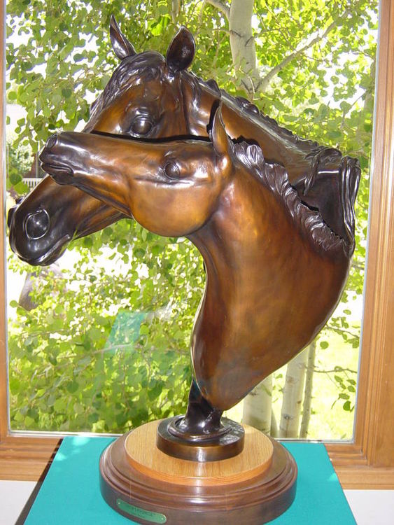 Shows Promise by Dawn Weimer - search and link Sculpture with SculptSite.com
