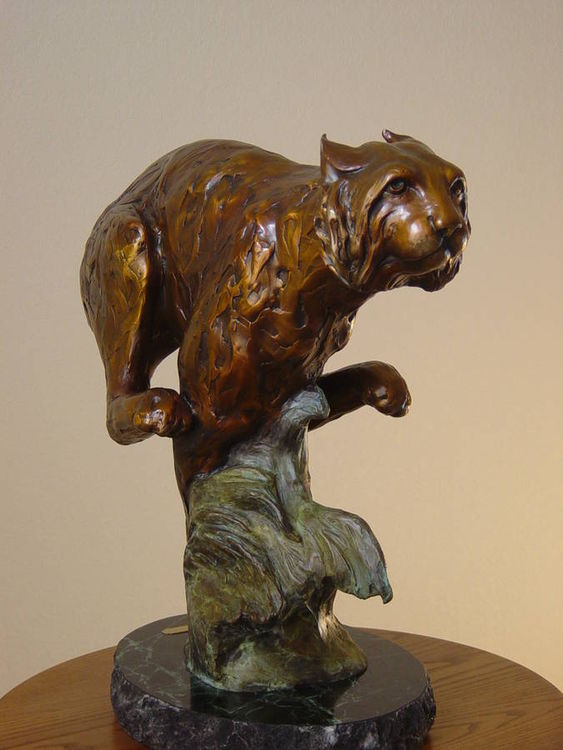 Full Throttle by Dawn Weimer - search and link Sculpture with SculptSite.com