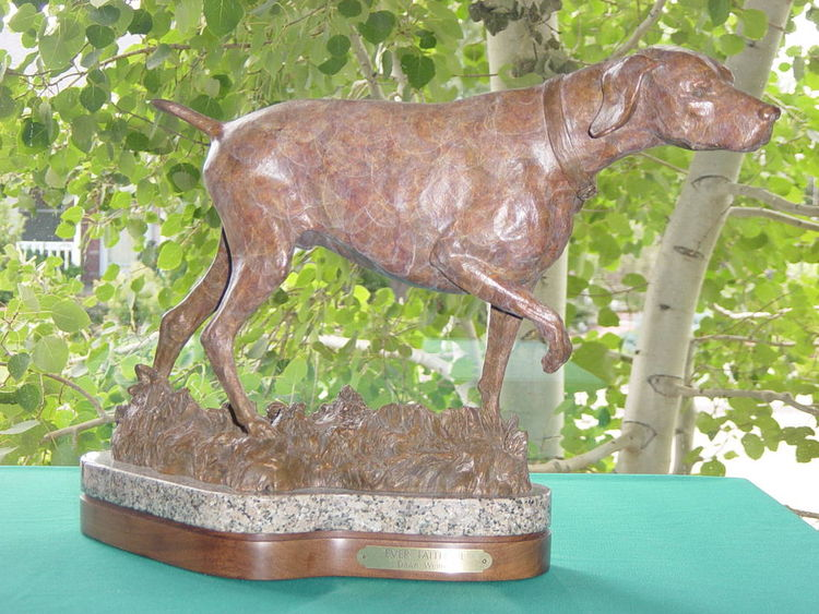 Everfaithful by Dawn Weimer - search and link Sculpture with SculptSite.com