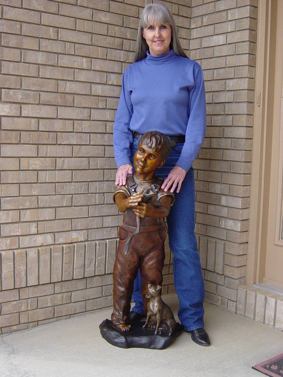 What Little Boys are Made of by Dawn Weimer - search and link Sculpture with SculptSite.com