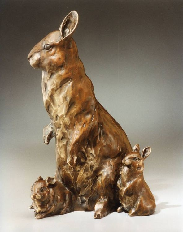 Peter, Paul and Mama by Dawn Weimer - search and link Sculpture with SculptSite.com