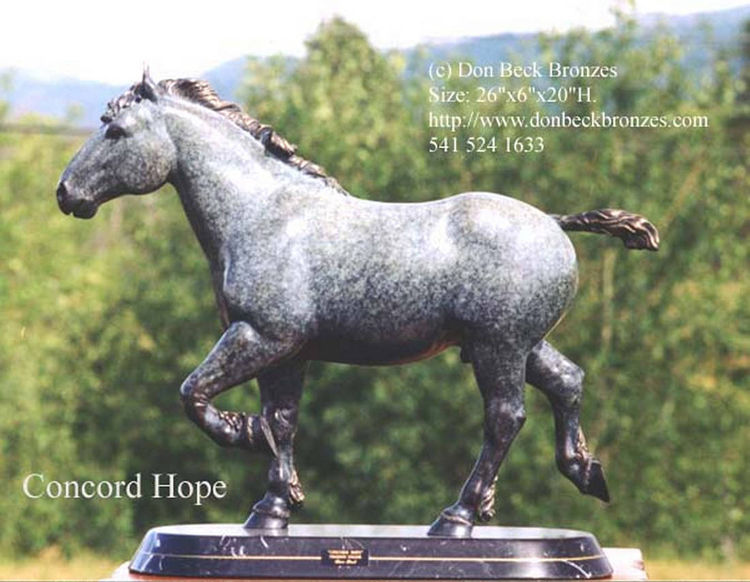 Concord Hope by Don Beck - search and link Sculpture with SculptSite.com