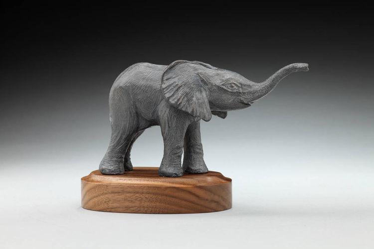 Nuru by Deb Jenkins - search and link Sculpture with SculptSite.com