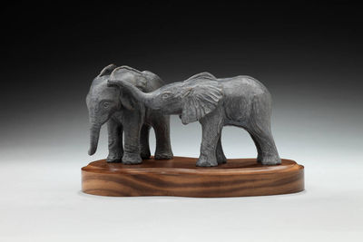 Ivory Orphans by Deb Jenkins - search and link Sculpture with SculptSite.com