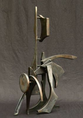Hammerhead Apparatus  by Mark Dickson - search and link Sculpture with SculptSite.com