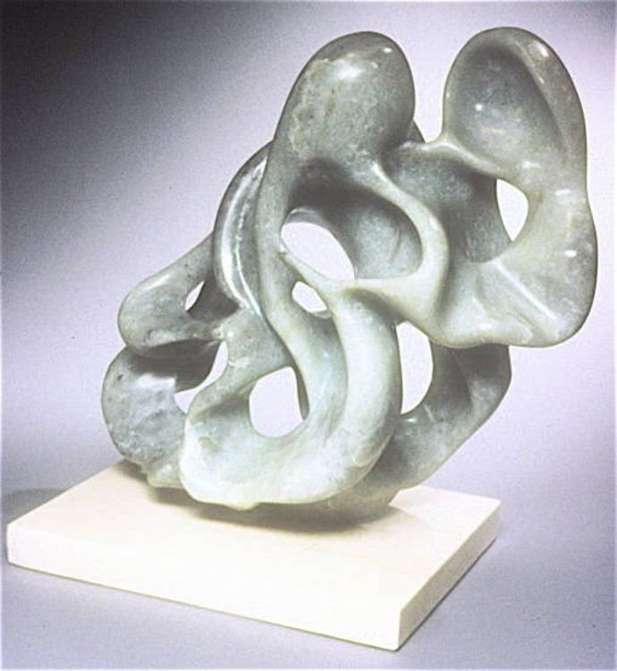 Experiment in Negative Space by Debora Solomon - search and link Sculpture with SculptSite.com