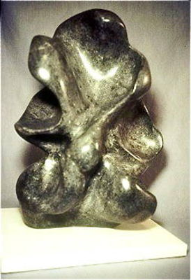 Black Abstract by Debora Solomon - search and link Sculpture with SculptSite.com