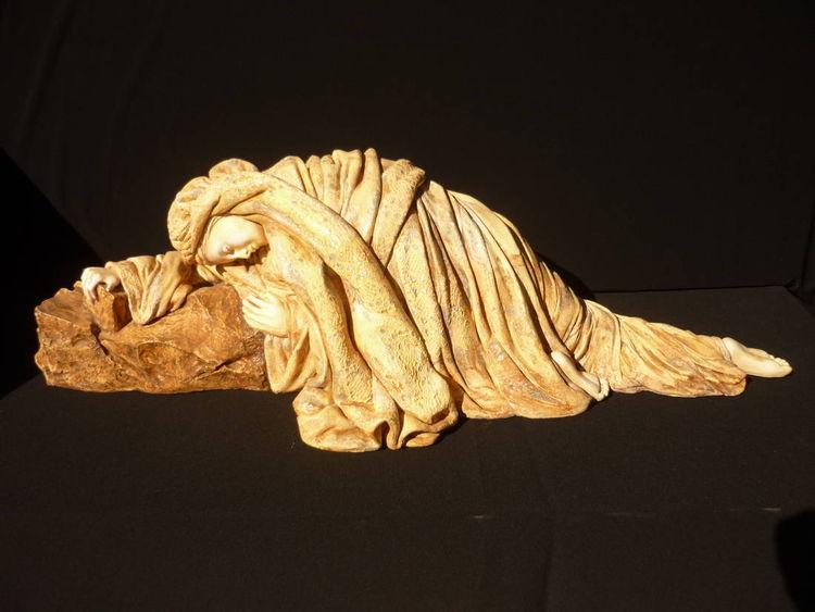 Prayer by Elena Karamushka - search and link Sculpture with SculptSite.com